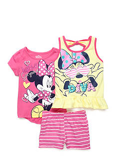 Disney Minnie Mouse Stripe 3-Piece Set Girls 4-6x