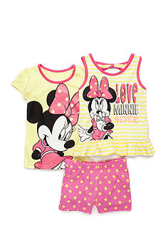 Disney Minnie Mouse Love 3-Piece Set Girls 4-6x