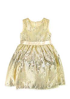 Nannette Sequin Dress Girls 4-6x