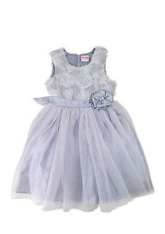 Nannette Glitter Tulle Dress Girls 4-6x