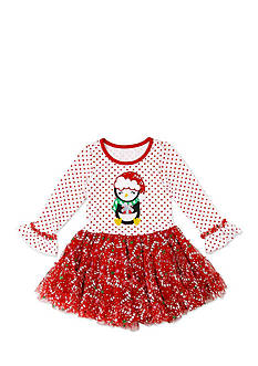 Nannette Penguin Tutu Dress Girls 4-6x