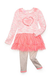 Nannette Tunic and Legging 2-Piece Set Girls 4-6x
