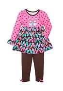 Nannette Butterfly 2-Piece Set Girls 4-6x