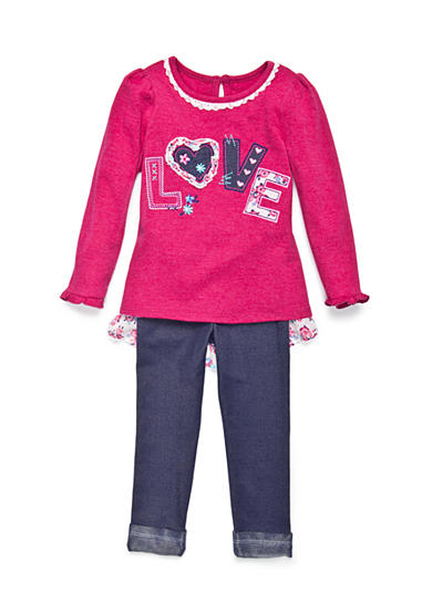 Nannette Love 2-Piece Set Girls 4-6x