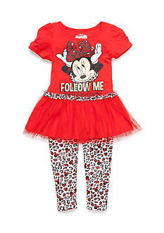 Disney 2-Piece Minnie Mouse 'Follow Me' Set Girls 4-6x