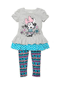 Disney Minnie Mouse Top and Leggings Set Girls 4-6x