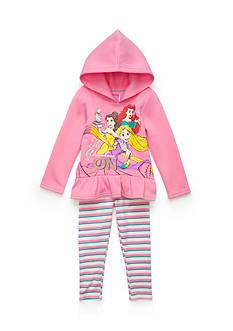Disney Princess Fleece Leggings Set Girls 4-6x