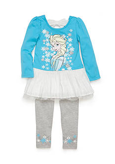 Disney® 2-Piece Frozen Chiffon Tunic and Legging Set Girls 4-6x