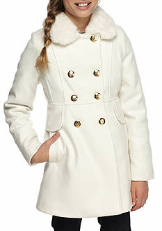 Jessica Simpson Wool Peacoat Girls 7-16