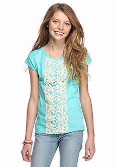 One Step Up Crochet High Low Top Girls 7-16