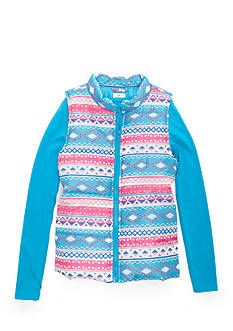 One Step Up Aztec Puffer with Top 2-Piece Set Girls 7-16
