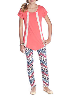 One Step Up Tunic and Legging Set Girls 7-16