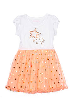 One Step Up Shooting Star Tulle Dress Girls 4-6x