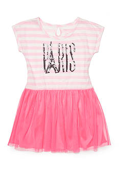 One Step Up Paris Tulle Dress Girls 4-6x