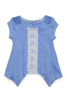 One Step Up Crochet Tunic Girls 4-6x