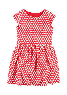 Carter's® Polka Dot Heart Dress Girls 4-6x
