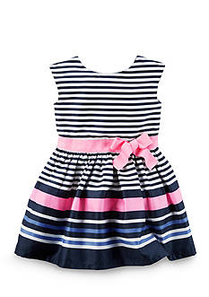Carter's® Striped Dress Girls 4-6x