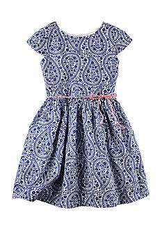 Carter's® Paisley Patterned Dress Girls 4-6x