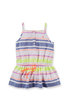 Carter's® Multi Stripe Tank Top Girls 4-6x