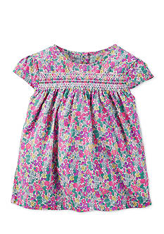 Carter's® Smocked Floral Tunic Girls 4-6x