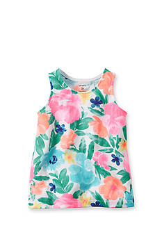 Carter's® Floral Tank Top Girls 4-6x