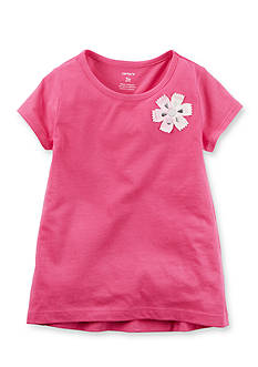Carter's Floral Embellished Tee Girls 4-6x