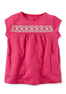 Carter's Puff Print Tee Girls 4-6x