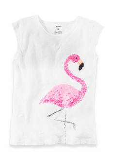 Carter's Flamingo Sequin Tee Girls 4-6x