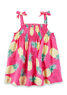 Carter's Pineapple Tie Tank Girls 4-6x