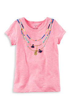 Carter's Necklace Tee Girls 4-6x