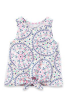 Carter's Front-Tie Kaleidoscope Tank Girls 4-6x