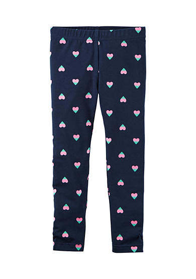 Carter's® Heart Print Leggings Girls 4-6x