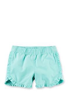 Carter's Mint Ruffle Short Girls 4-6x
