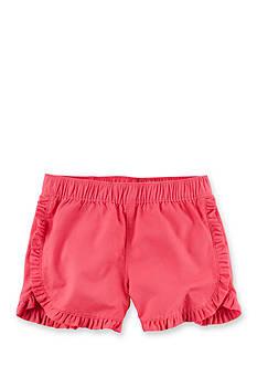 Carter's Red Ruffle Short Girls 4-6x