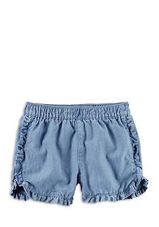 Carter's Ruffle Denim Short Girls 4-6x