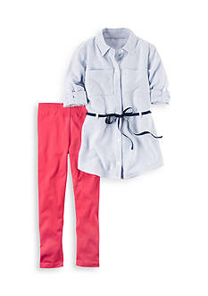 Carter's 2-Piece Striped Tunic & Legging Set Girls 4-6x