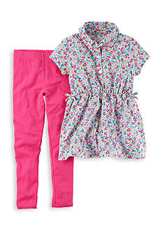 Carter's 2-Piece Floral Tunic and Leggings Set Girls 4-6x