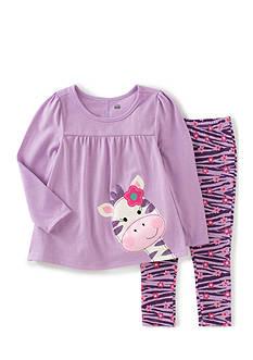 Kids Headqrtrs Inf/Tdlr Purple Heather Zebra Girls 4-6X