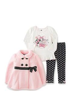 Kids Headqrtrs Girls Girl Things Jacket Set Girls 4-6X