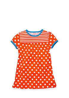 J Khaki™ Dot Babydoll Top Girls 4-6x