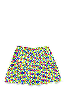 J Khaki™ Lattice Print Scooter Girls 4-6x