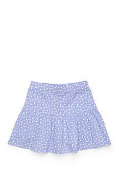 J Khaki™ Tiered Polka Dot Scooter Girls 4-6x
