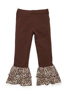 J Khaki™ Animal Ruffle Pant Girls 4-6X