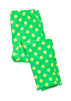 J. Khaki Dot Legging Girls 4-6x