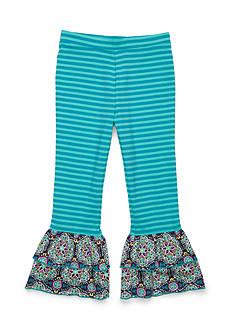 J. Khaki Ruffle Pants Girls 4-6X