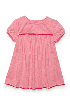 J. Khaki Solid Heathered Babydoll Top Girls 4-6x