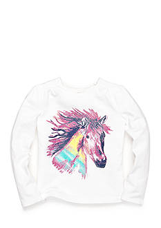 J Khaki™ Horse Top Girls 4-6x