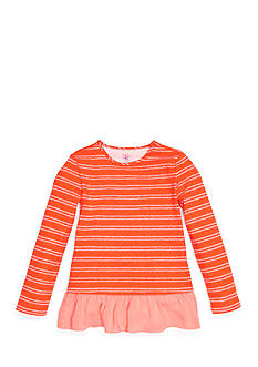 J. Khaki® Stripe Babydoll Top Girls 4-6X