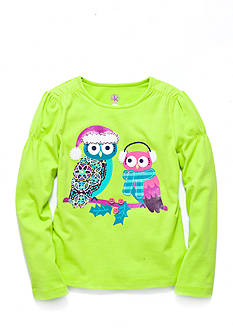 J. Khaki® Snow Owl Top Girls 4-6X
