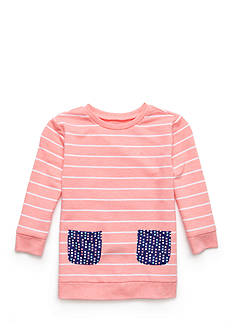 J. Khaki French Terry Pocket Sweatshirt Girls 4-6X